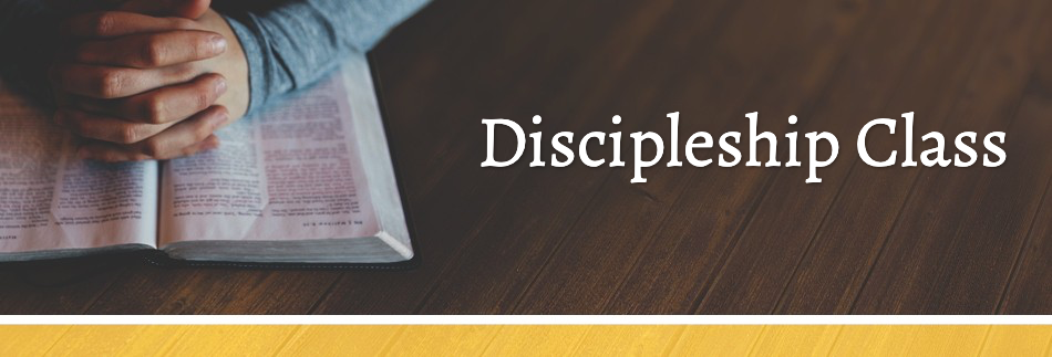 Discovery Classes Ministry Website Banner